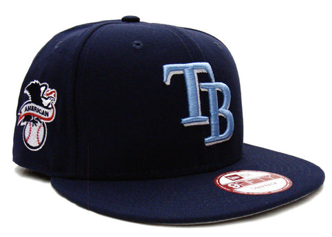 Tampa Bay Rays Snapback New Era Baycik Cap Hat Navy