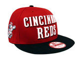 Cincinnati Reds Snapback New Era Mondo Cap Hat Red Black