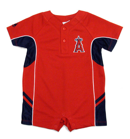 Anaheim Angels Infant Majestic Romper Red