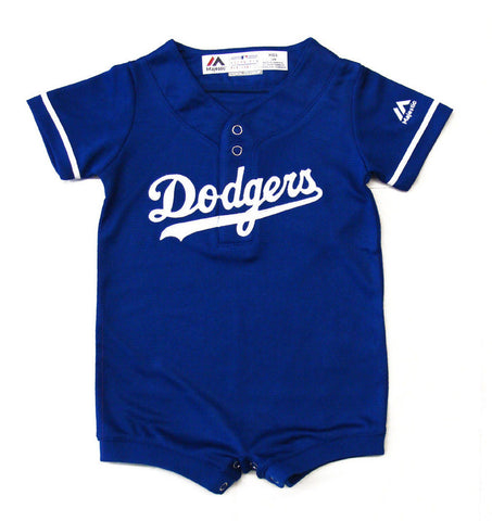 Los Angeles Dodgers Newborn Infant Jersey (0/3-9 Months) Cool Base Jersey Romper Blue