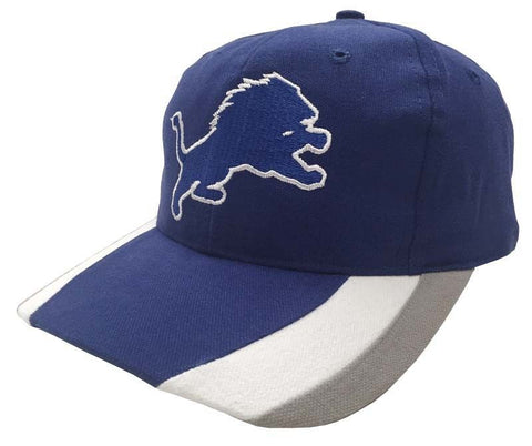 Detroit Lions Retro Vintage Twins Snapback Cap Hat Blue White