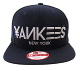 New York Yankees New Era ORIGINAL FIT Major Mark Snapback Cap Hat Navy