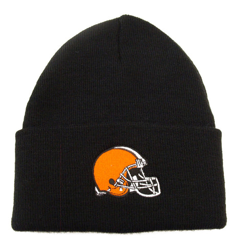 Cleveland Browns Embroidered Beanie Ski Cap Black