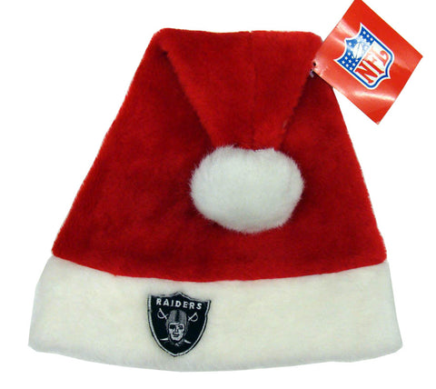 Oakland Raiders Red Vintage Christmas Hat