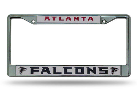 Atlanta Falcons Chrome Auto Licensed Plate Frame
