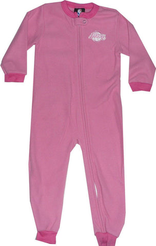 Los Angeles Lakers Toddler (2T-4T) Girls Pajamas Sleeper Coveralls Pink