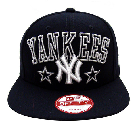 New York Yankees Snapback New Era ORIGINAL FIT Star Up City Cap Hat Navy