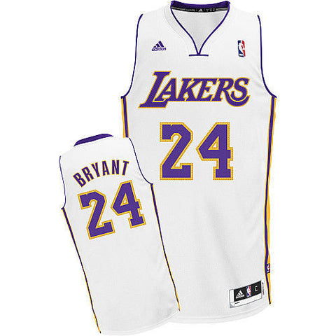 Los Angeles Lakers Youth Bryant #24 Swingman Replica Jersey White