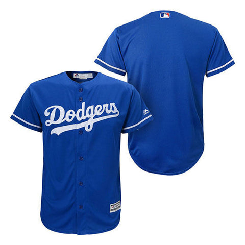 Los Angeles Dodgers Youth Jersey Majestic Cool Base (8-20) Replica Blue
