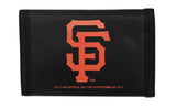 San Francisco Giants Nylon Trifold Wallet