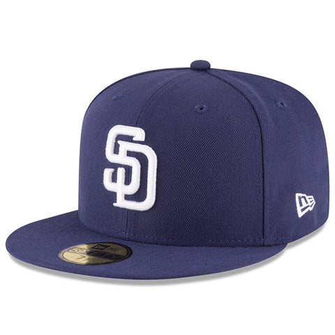 San Diego Padres Fitted New Era 59FIFTY On Field Navy Cap Hat