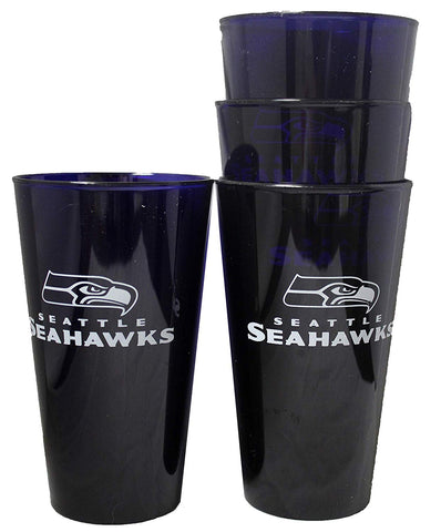 Seattle Seahawks 16oz Plastic Pint Set