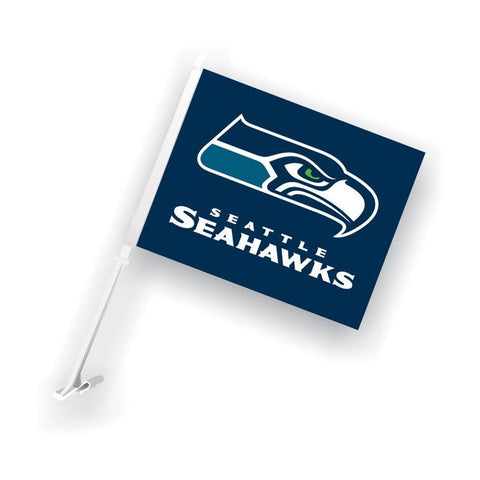 Seattle Seahawks Auto Tailgating Truck or Car Flag Navy Blue
