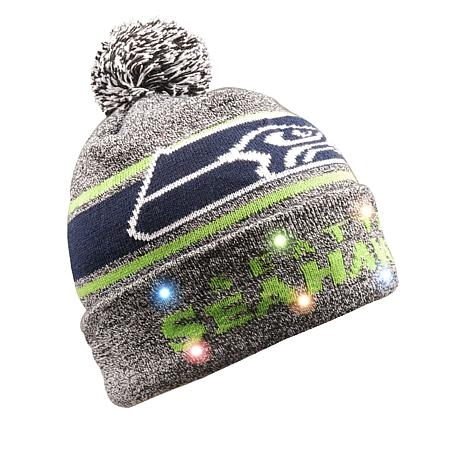 Seattle Seahawks NFL Light-Up Beanie