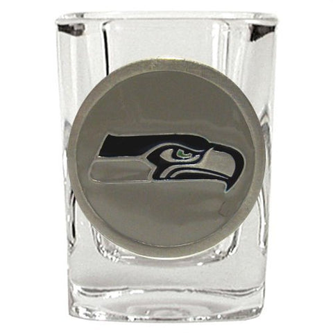 Seattle Seahawks 2oz Logo Square Shot Glass