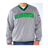 Seattle Seahawks Men's G-III Coin Toss Wordmark Pullover Windbreaker