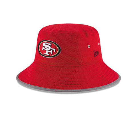 San Francisco 49ers New Era 2016 On Field Training Camp Bucket Hat Red