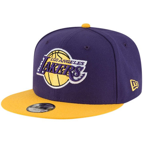 Los Angeles Lakers Youth Snapback New Era 9Fifty 2 Tone Cap Hat