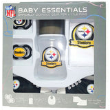 Pittsburgh Steelers Baby Essentials 5 Piece Infant Gift Set New