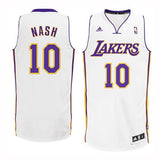 Los Angeles Lakers Mens Jersey Adidas #10 Steve Nash Swingman White