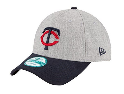 Minnesota Twins Velcro New Era 9Forty Adjustable The League Heather Cap Hat
