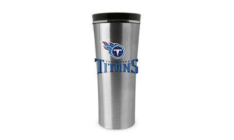 Tennessee Titans 18oz Stainless Steel Free Flow Tumbler Travel Mug Cup