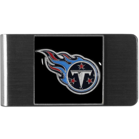Tennassee Titans Stainless Steel Money Clip