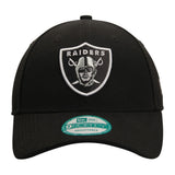 Oakland Raiders New Era The League Adjustable Cap Hat Black