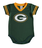 Green Bay Packers Infant (3-6 Months) Dazzle Bodysuit Green