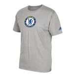 Chelsea Men's Adidas Team Crest T-Shirt Grey