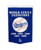 Los Angeles Dodgers Bar Home Decor MLB Dynasty Banner
