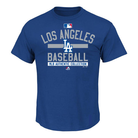 Los Angeles Dodgers Youth T-Shirt Authentic Collection Team Property Blue