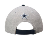 Dallas Cowboys New Era The League Adjustable Cap Hat Wool Navy