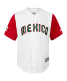 Mexico Mens Majestic 2017 World Baseball Classic Replica Jersey White