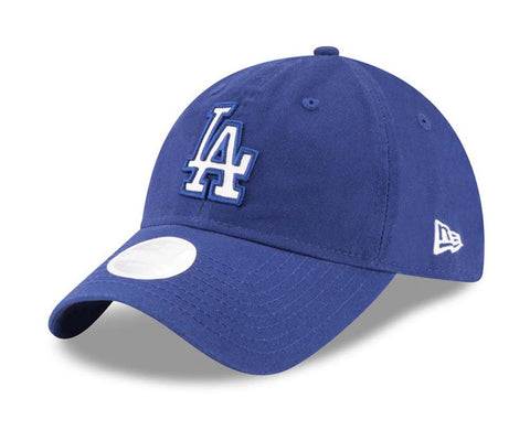 Los Angeles Dodgers Strapback New Era Womens Adjustable Team Glisten Cap Blue