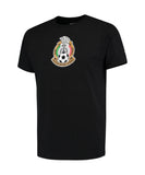 Mexico Soccer Futbol Men's Adidas National Team Crest T-Shirt Black