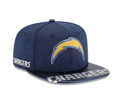 Los Angeles Chargers Snapback New Era 2017 NFL Draft On Stage Cap Hat Navy