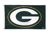 Green Bay Packers Logo 3' X 5' Flag Banner