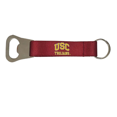 USC Trojans Key Chain Bottle Opener Lanyard