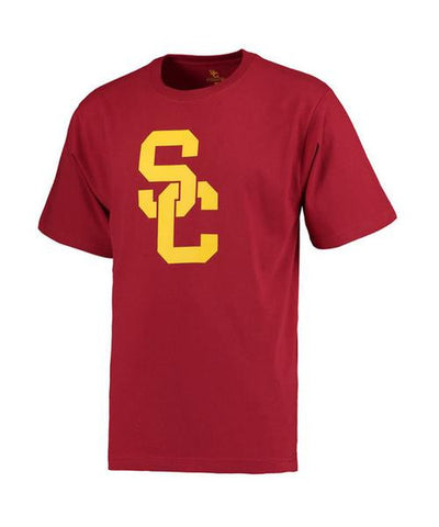 USC Trojans Youth T-Shirt Interlock Red