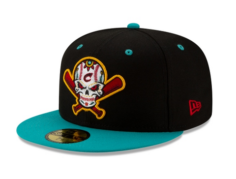 Columbus Clippers Veleros Fitted New Era 59Fifty Copa de la Diversion Black