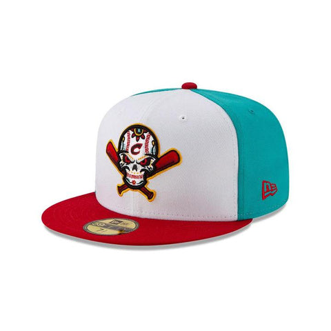 Columbus Clippers Veleros Fitted New Era 59Fifty Copa de la Diversion Teal White Red