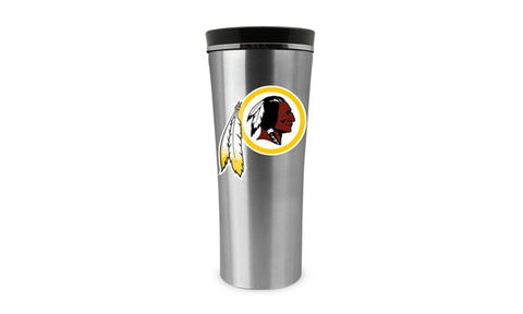Washington Redskins 18oz Stainless Steel Free Flow Tumbler Travel Mug Cup