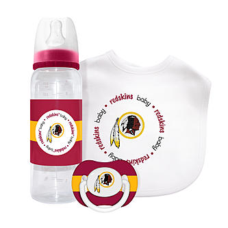 Washington Redskins 3-Piece Baby Gift Set