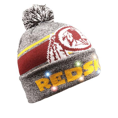 Washington Redskins NFL Light-Up Beanie