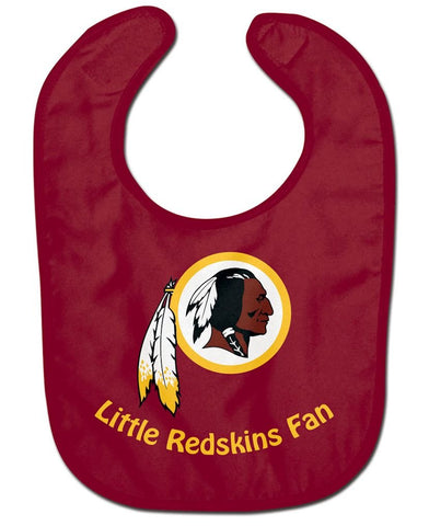 Washington Redskins Little Fan Baby Bib