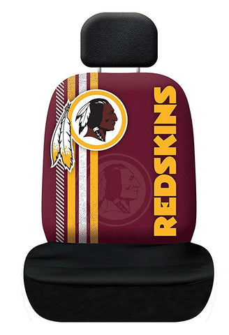 Washington Redskins Auto Rally Seat Cover One Size Universal Fit