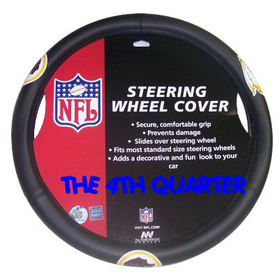 Washington Redskins Auto Rubber Steering Wheel Cover