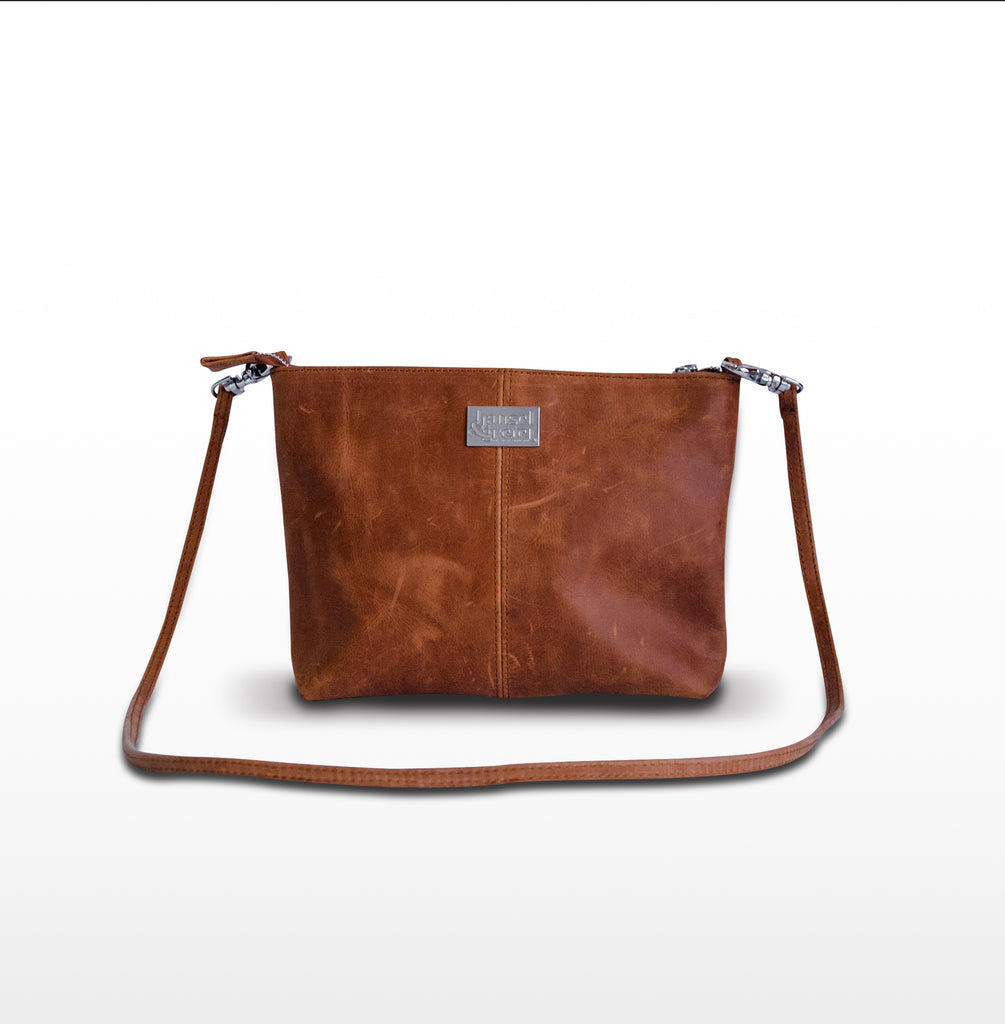 H&G Leather single clutch
