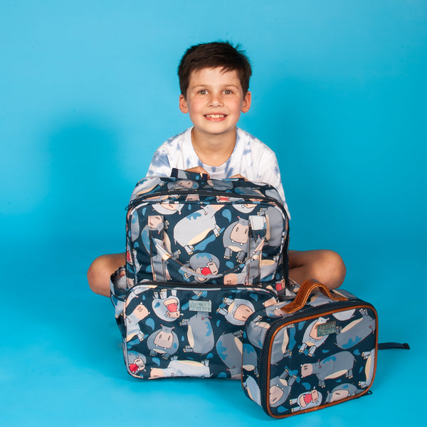 H&G Kids school backpack combo